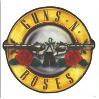Textile patch 30 GUNS & ROSES 5cm x 4,75cm