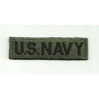 Parche bordado U.S.NAVY 8cm x 2,5cm