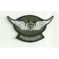 Patch embroidery SQUADRON 35 9cm x 5cm