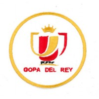 Embroidery patch COPA DEL REY 7,5cm