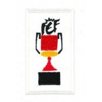 Embroidery patch COPA DEL REY 7,5cm x 8cm