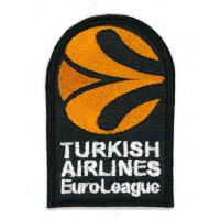 Embroidery patch EUROLEAGUE TURKISH AIRLINES 2020 4,5cm x 7cm