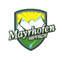 Textile patch MAYRHOFEN HIPPACH 5cm x 4,5cm