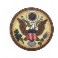 Textile patch ESCUDO USA COLOR 7cm