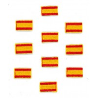 Embroidery patch SPAIN FLAG PACK MINI 1,5CM x 1CM
