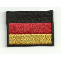 Patch embroidery FLAG GERMANY 7CM X 5CM
