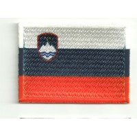 Patch embroidery and textile FLAG SLOVENIA 4CM x 3CM
