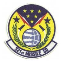 Parche textil 321th MISSILE SQUADRON 7,5cm x 8cm