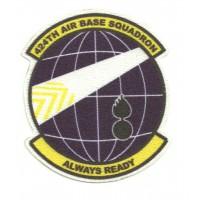 Parche textil 424th AIR BASE SQUADRON 7cm x 8cm