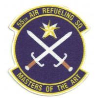 Parche textil 55th AIR REFUELING SQUADRON 7,5cm x 8cm