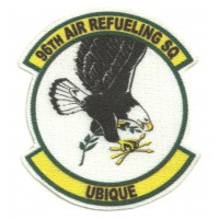 Parche textil 96th AIR REFUELING SQUADRON 7,5cm x 8cm