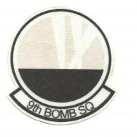 Parche textil 9th BOMB SQUADRON 7,5cm x 8cm