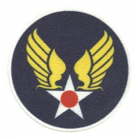 Parche textil UNITED STATES ARMY AIR FORCES (USAAF) 8cm