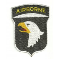 Textile patch AIRBORNE 6cm x 8cm