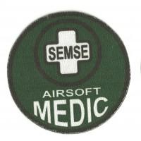 Parche textil AIRSOFT MEDIC SEMSE 1 8,5cm