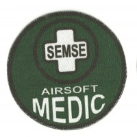 Textile patch AIRSOFT MEDIC SEMSE 1 8,5cm