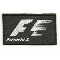 Parche bordado FORMULA 1 9cm x 5,5cm