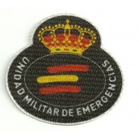 Textile patch UNIDAD MILITAR DE EMERGENCIAS 8cm 7cm