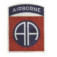 Parche textil 82nd Airborne Division 6,5cm 8cm