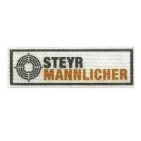 Parche textil STEYR MANNLICHER 10cm x 3cm