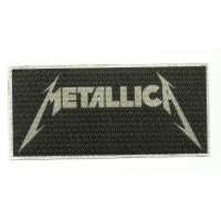 Textile patch METALLICA 10,5CM X 5CM