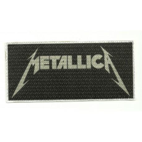 Textile patch METALLICA 10,5CM X 5CM