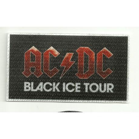Textile patch AC DC BLAK ICE TOUR 9,5cm x 5cm