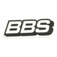 Parche textil BBS 8cm x 3cm