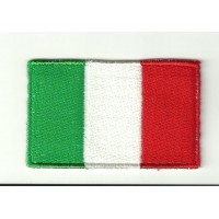 Patch embroidery FLAG ITALY 7CM X 5CM