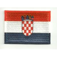 Parche bordado y textil BANDERA CROACIA 7CM x 5CM