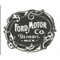 Textile patch FORD MOTOR CO. 11cm x 9cm