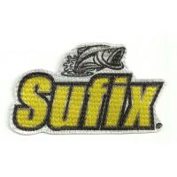 Textile patch SUFIX 9cm x 5,5cm