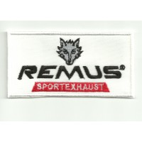 Parche bordado REMUS 9cmx 4,5cm