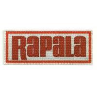 Parche textil RAPALA 9,5cm x 3,5cm