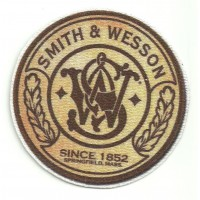 Parche textil SMITH & WESSON 8cm
