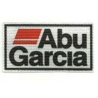 Parche textil ABU GARCIA 9cm x 5cm