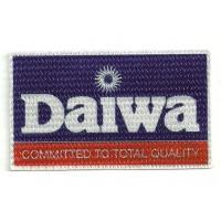 Parche textil DAIWA 9cm x 5cm