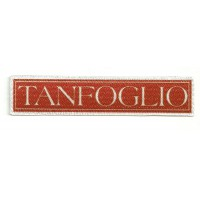 Parche textil TANFOGLIO 11cm x 2cm