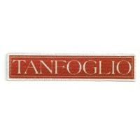 Textile patch TANFOGLIO 11cm x 2cm