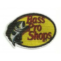 Textile patch BASS PRO SHOPS 9cm x 6cm