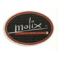 Textile patch MOLIX 8cm x 5.5cm