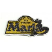 Parche textil MARIA MIURA JAPAN 8.5cm x 4cm