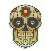 Textile patch CALAVERA MEXICANA 8cm x 11cm