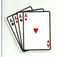 embroidery patch POKER 5cm x 5cm