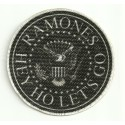Parche textil RAMONES 8CM X 8CM