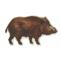 Textile patch BOAR PROFILE 11,5cm x 6,5cm
