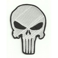 Parche bordado CALAVERA EL CASTIGADOR ( The punisher ) 10,5cm x 7,5cm