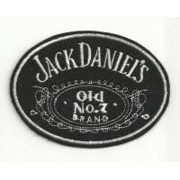 Parche bordado JACK DANIELS 10cm X 7,5cm