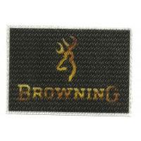 Parche textil BROWNING 7,5cm X 5,5cm