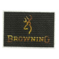 Textile patch BROWNING 7,5cm X 5,5cm